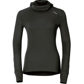 Odlo Warm Shirt L/S Women with Facemask black